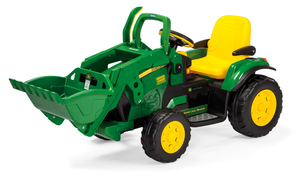 Peg-Pérego John Deere Ground Loader 12V zelená